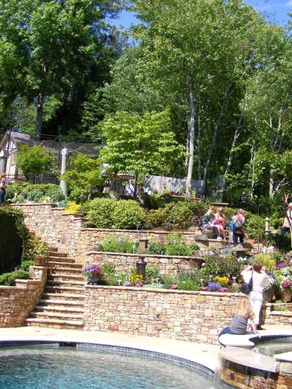 The Tuscan garden